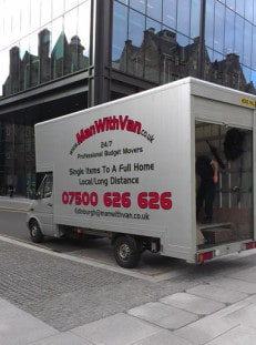 Man with Van removals Edinburgh