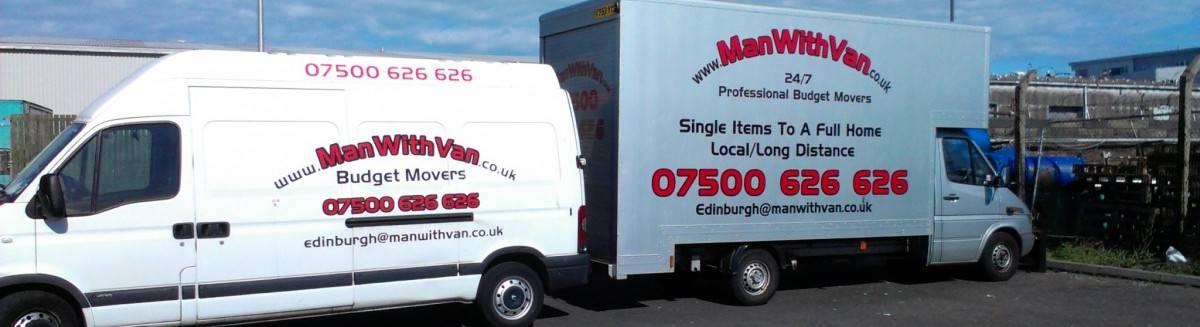 Man with Van House Clearances in Edinburgh