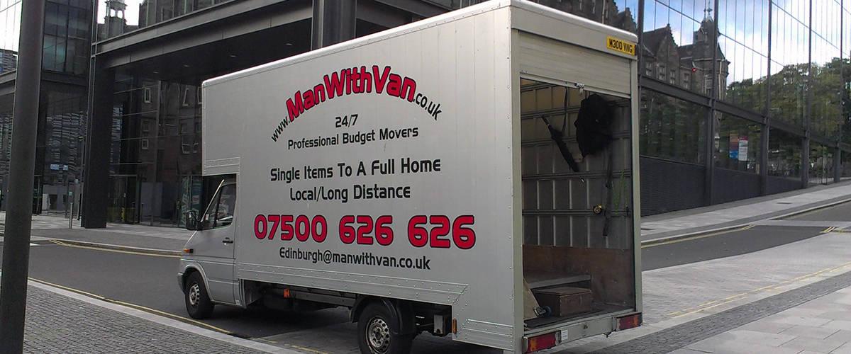 Man with Van removal van